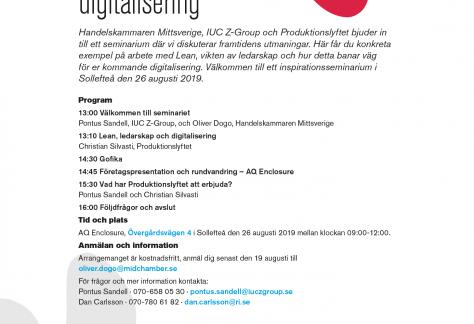 lean ledarskap digitalisering