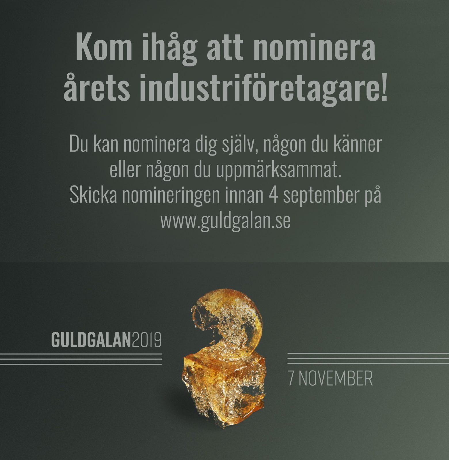 nominera årets industriföretagare