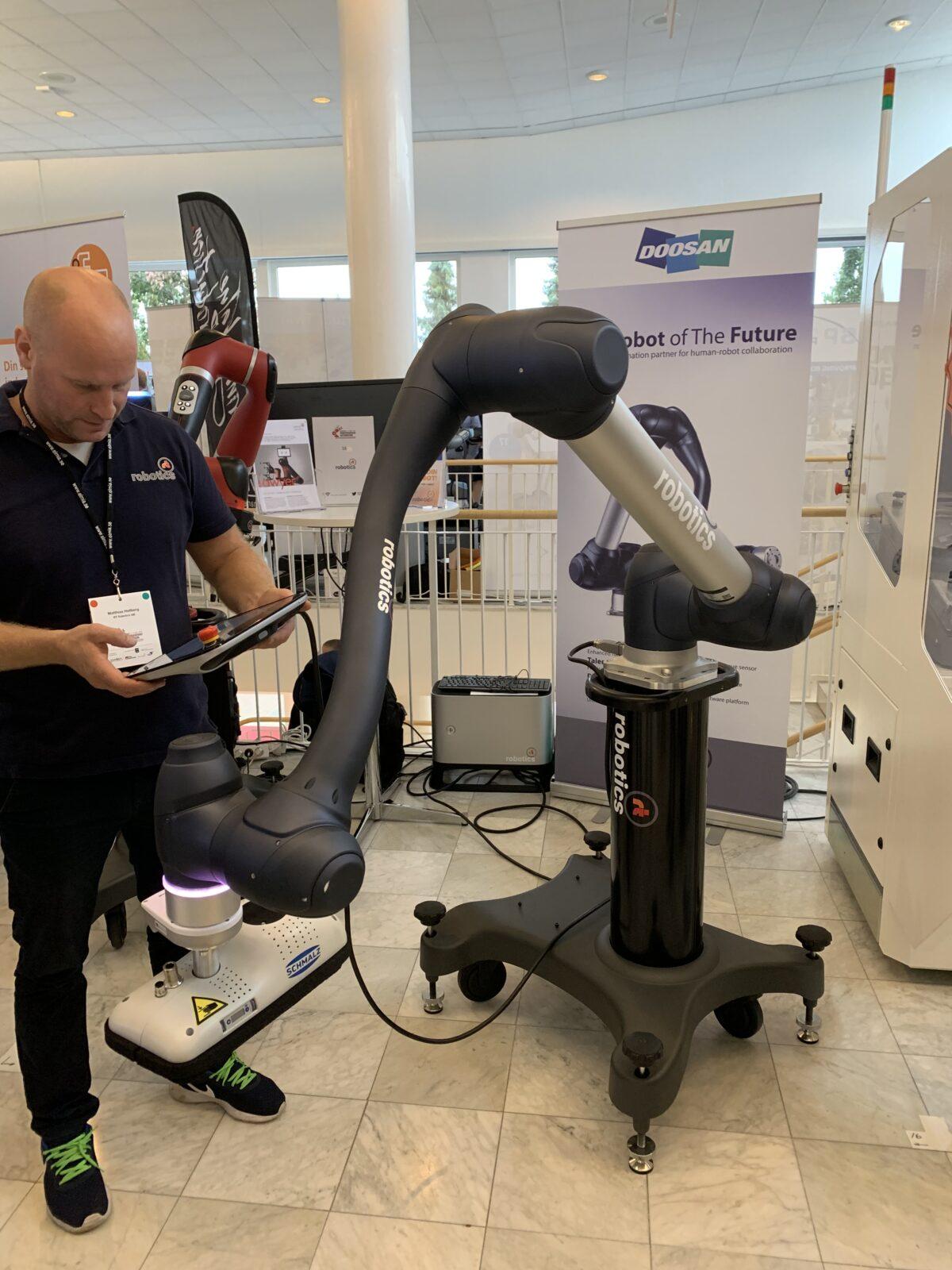 Referat från Robotkonferensen i Jönköping