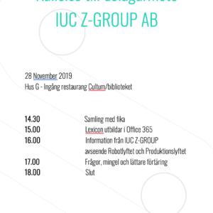 Delägarmöte IUC Z-GROUP
