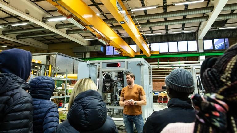 IUC Z-GROUPs Industridag med spännande teknik lockar unga till industrin