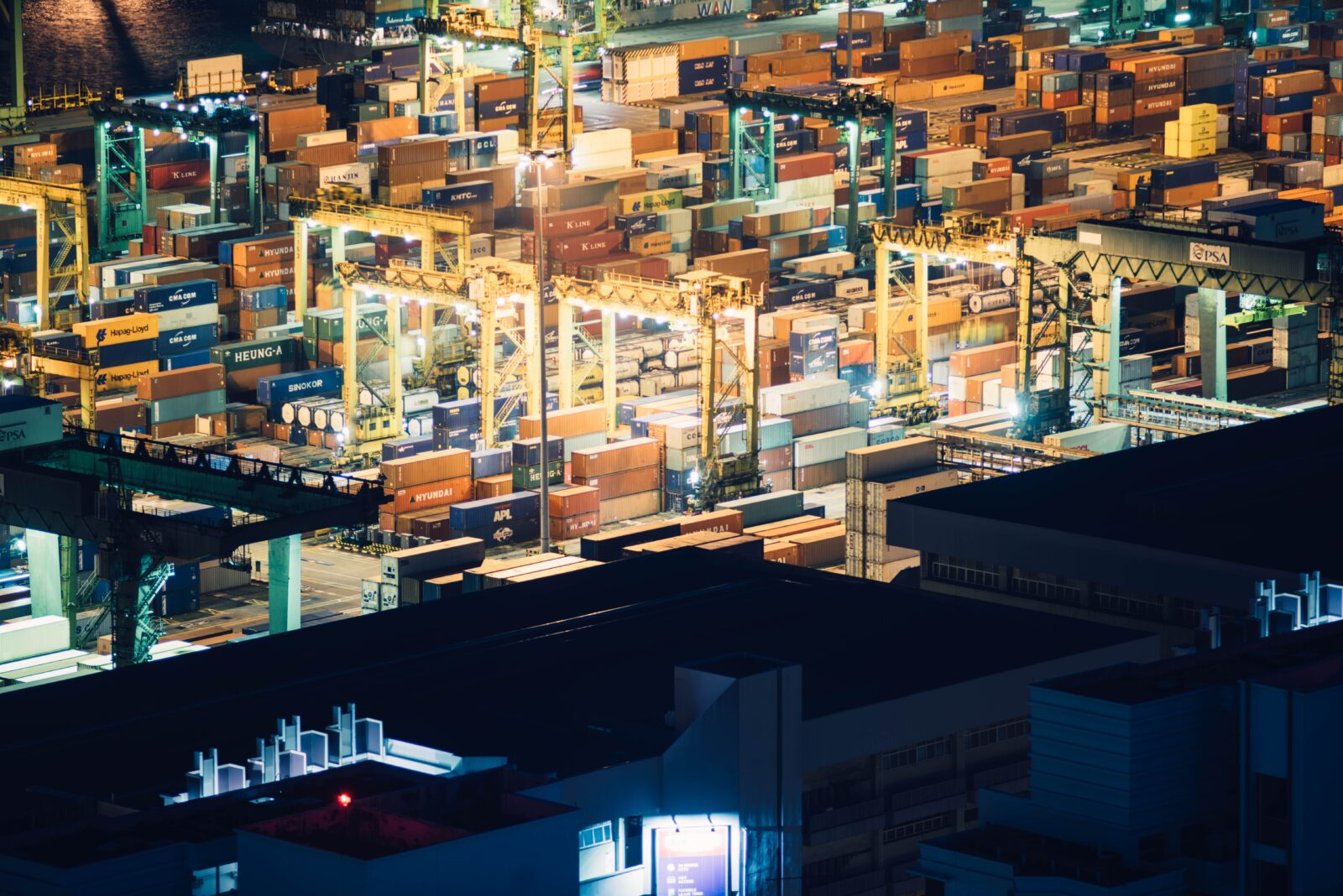 Kraftig brist på containrar i Kina